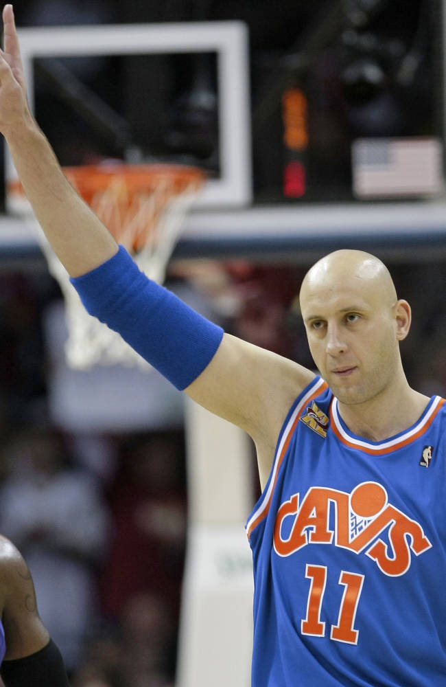 Ilgauskas to have jersey retired by Cavs