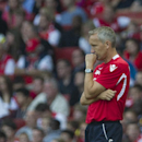 Crystal Palace's manager Keith Millen reacts during their English Premier League soccer match against Arsenal, at Emirates Stadium, in London, Saturday, Aug. 16, 2014