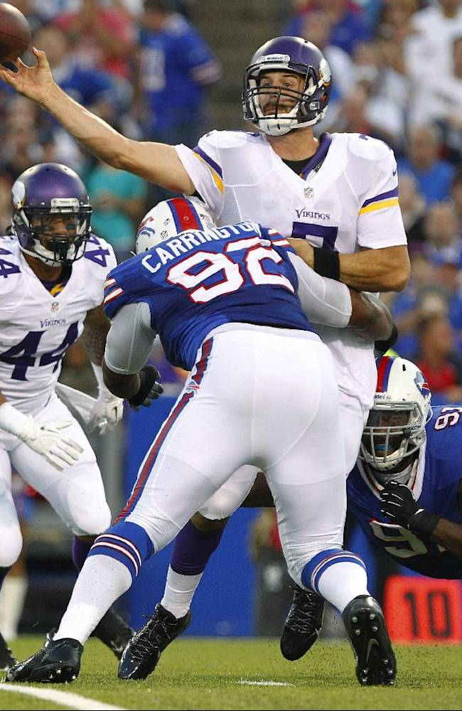 Bills new-look D provides pop in beating Vikes