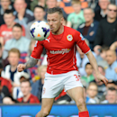 Cardiff's Craig Bellamy controls the ball during the English Premier League soccer match between West Bromwich Albion and Cardiff City at Hawthorns Stadium in West Bromwich, England, Saturday, March 29 2014