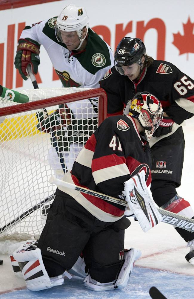 Koivu has goal, 2 assists in Wild's win over Sens