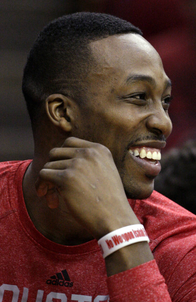 Rockets C Howard (ankle) expected to sit out again