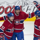 Parenteau, Weise lead Canadiens past Flyers, 6-3 The Associated Press