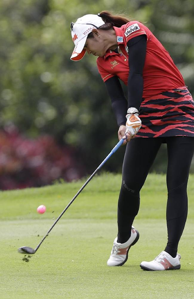 Nordqvist, Ryu, Phatlum tied for lead in Mexico
