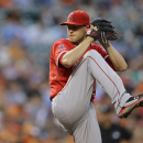 Angels LHP Skaggs leaves no-hit bid with injury The Associated Press
