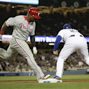 Phils beat Dodgers 3-2 in 10 on Brown's RBI double The Associated Press