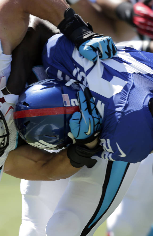 5 reasons the Panthers defeated the Giants 38-0