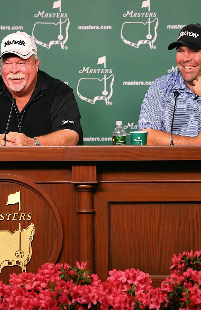 Father and son gearing up for historic Masters