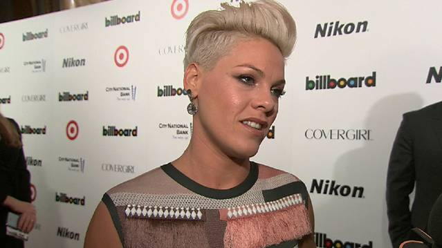 Pink Honored As Billboard's Woman Of The Year