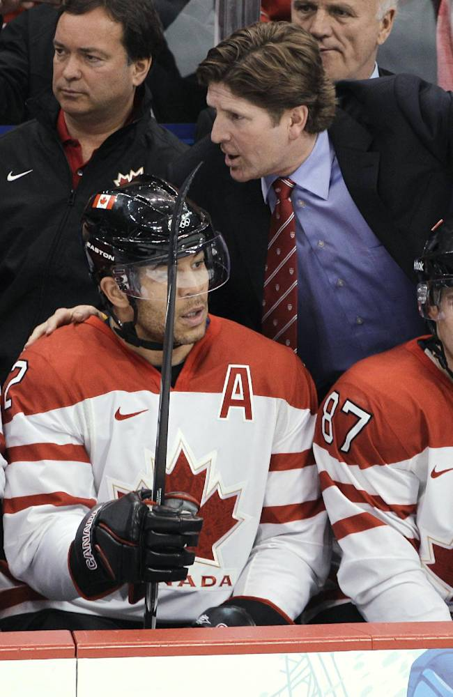 Babcock-led Canadians aim for another gold medal