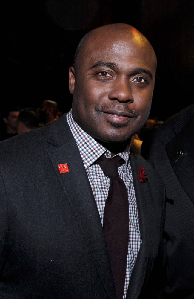 IMAGE DISTRIBUTED FOR NFL PLAYERS - Former NFL player Marshall Faulk is seen at the Super Bowl VIP Party on Jan. 30, 2014, in New York City. (Brian Ach/AP Images for NFL PLAYERS)