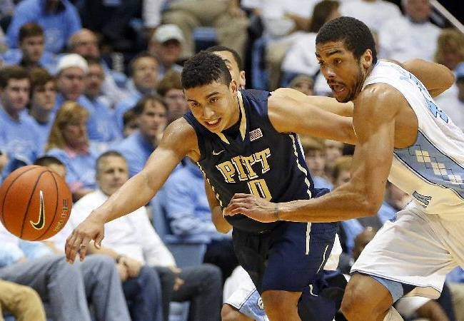 North Carolina holds off No. 25 Pittsburgh 75-71