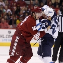 Wheeler, Jets rout Coyotes 6-2 in opener The Associated Press