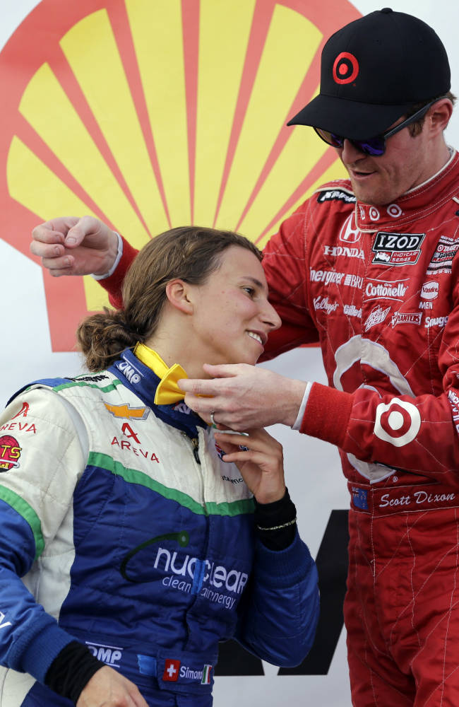 Simona joins Patrick, Fisher as podium finishers