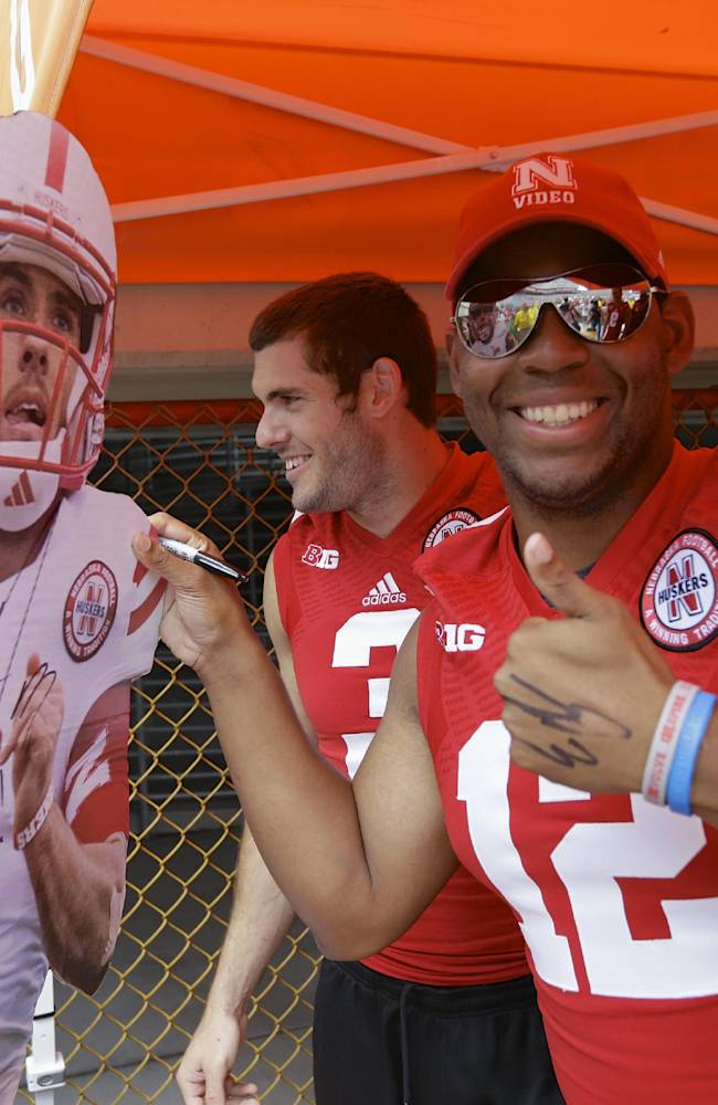Huskers' Kellogg instant celebrity after Hail Mary