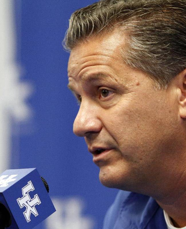 Kentucky introduces another No. 1 recruiting class
