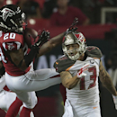 Falcons romp to 56-14 win over hapless Buccaneers The Associated Press