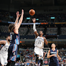 MEMPHIS, TN - MARCH 8: Mike Conley #11 of the Memphis Grizzlies shoots against the Charlotte Bobcats on March 8, 2014 at FedExForum in Memphis, Tennessee. (Photo by Joe Murphy/NBAE via Getty Images)
