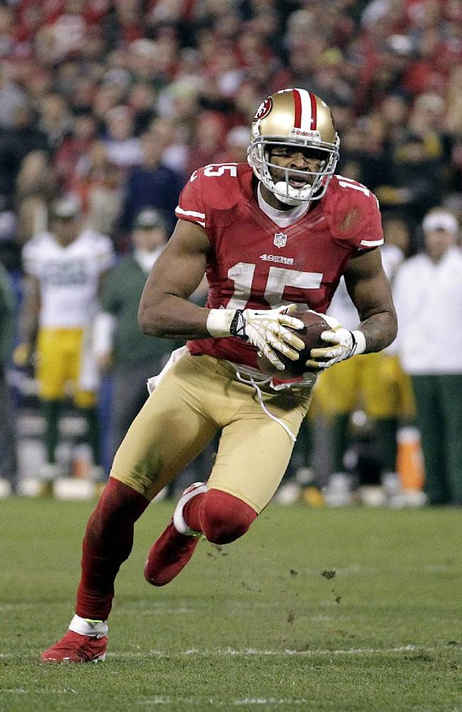 Crabtree listed to start for 49ers against Rams