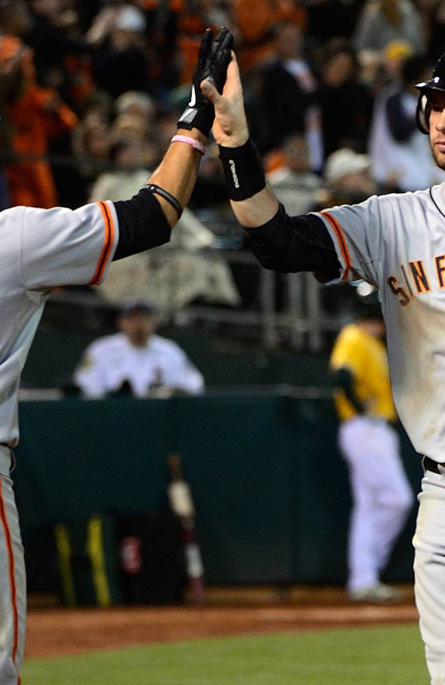 San Francisco Giants v Oakland Athletics