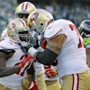 49ers' Gore out with concussion The Associated Press