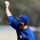 Toronto Blue Jays' Brandon Morrow pitches during the third inning spring of a spring training baseball game against the Pittsburgh Pirates in Dunedin, Fla., on Friday, Feb. 28, 2014 The Associated Press