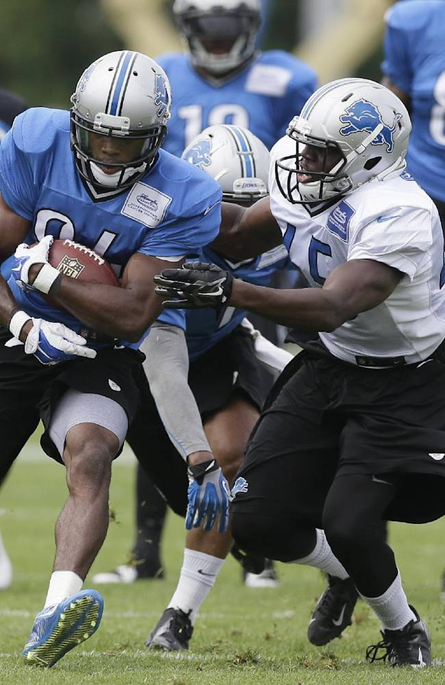 Lions appear to be thin on talent at cornerback