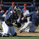 Brantley has 4 hits, Indians tie Padres 4-4 in 10 The Associated Press