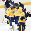 Weber's 2 Goals Lead Predators Over Blues 3-2