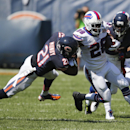 Buffalo Bills running back C.J. Spiller (28) is tackled by Chicago Bears safety Ryan Mundy (21) and cornerback Charles Tillman (33) during the second half of an NFL football game Sunday, Sept. 7, 2014, in Chicago The Associated Press