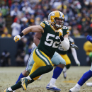 In this Jan. 11, 2015, file photo, Green Bay Packers outside linebacker Clay Matthews (52) pressures Dallas Cowboys quarterback Tony Romo, not shown, during the first half of an NFL divisional playoff football game in Green Bay, Wis The Associated Press