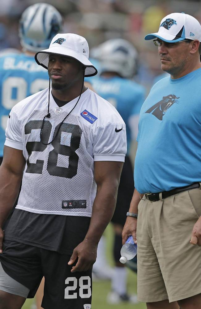 Panthers activate RB Stewart from PUP list