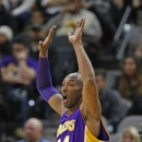 Los Angeles Lakers v San Antonio Spurs Getty Images