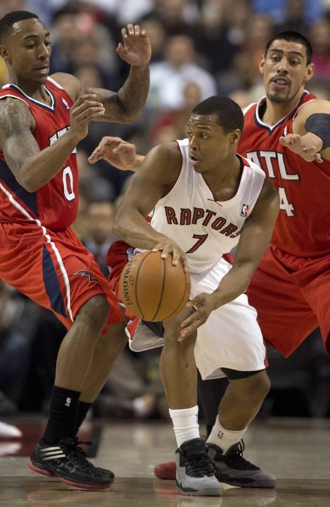 DeRozan scores 31 as Raptors beat Hawks 104-83
