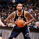 MINNEAPOLIS, MN - APRIL 15: Mo Williams #5 of the Utah Jazz looks to pass the ball against the Minnesota Timberwolves on April 15, 2013 at Target Center in Minneapolis, Minnesota. (Photo by David Sherman/NBAE via Getty Images)
