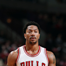 CHICAGO, IL - FEBRUARY 10: Derrick Rose #1 of the Chicago Bulls stands on the court during a game against the Sacramento Kings on February 10, 2015 at the United Center in Chicago, Illinois. (Photo by Gary Dineen/NBAE via Getty Images)