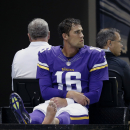 Vikings' Cassel out for season The Associated Press