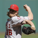 Weaver wins 16th as Angels rout Indians 12-3 The Associated Press