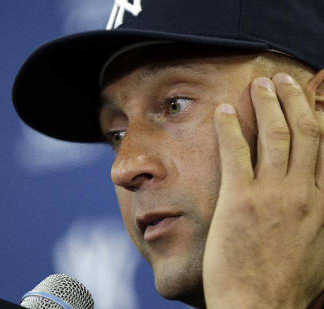 Showing no emotion, Jeter says 'time is right'