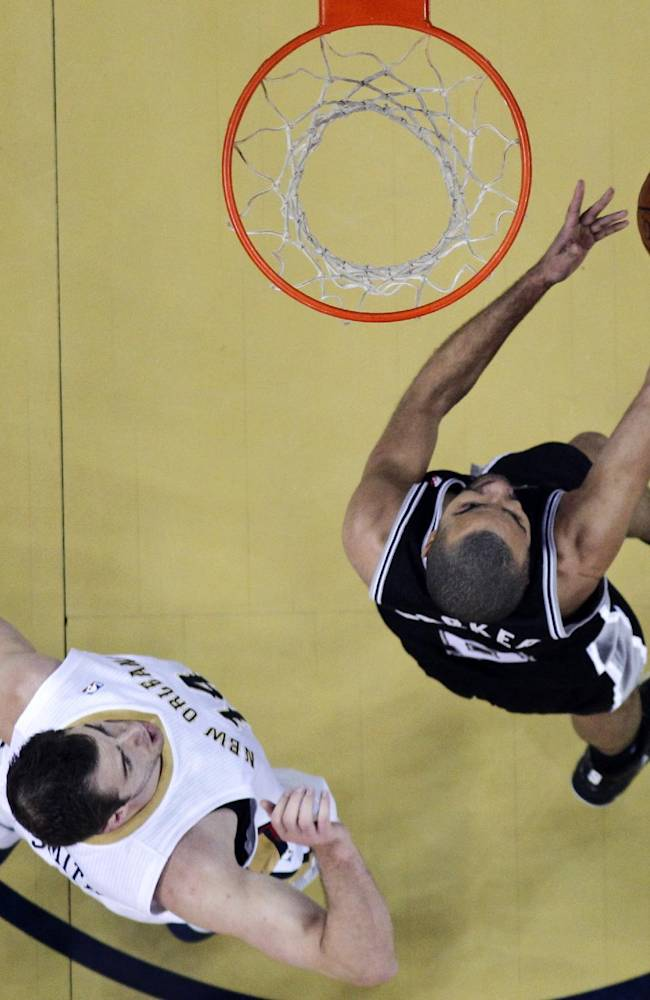 Parker leads Spurs past Pelicans, 101-95