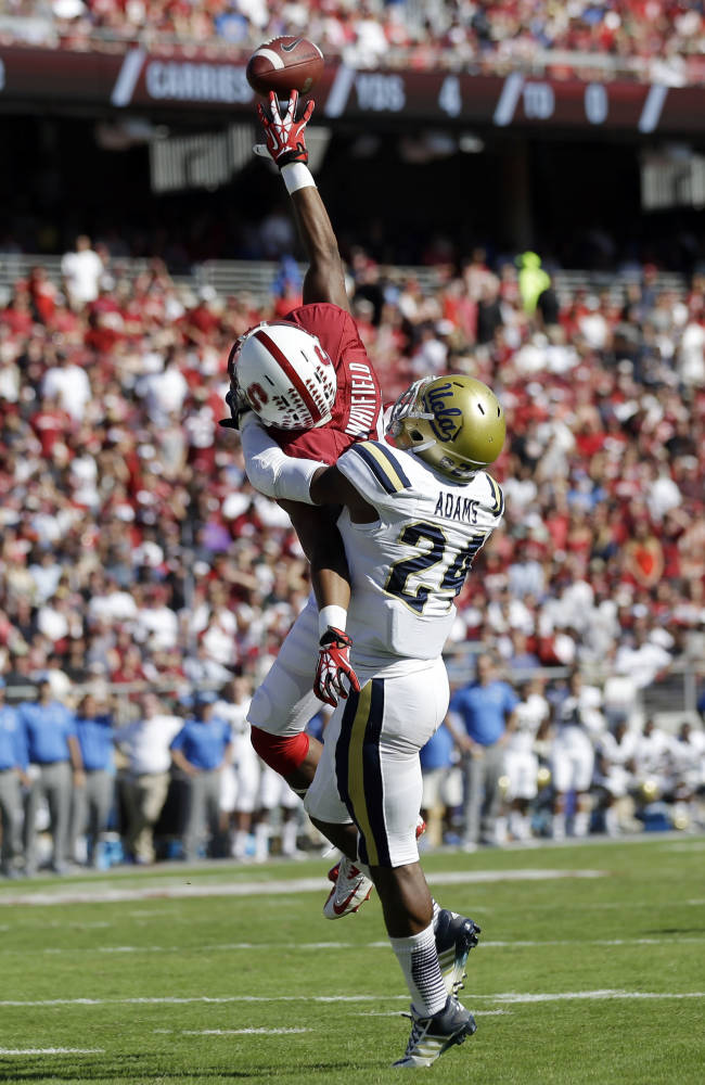Stanford's Kodi Whitfield moving from WR to safety