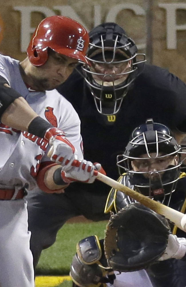 Pirates put Cardinals on edge in NLDS with 5-3 win