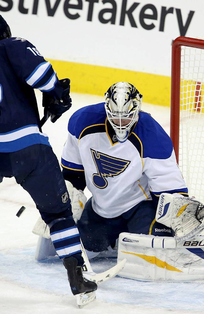Blues edge Jets 2-1