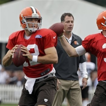 Browns QB Weeden growing in confidence