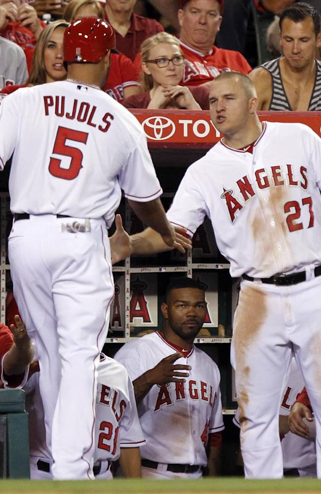 Kendrick's 2-run single helps Angels beat Indians