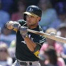 Sam Fuld OK after getting hit in jaw by throw The Associated Press