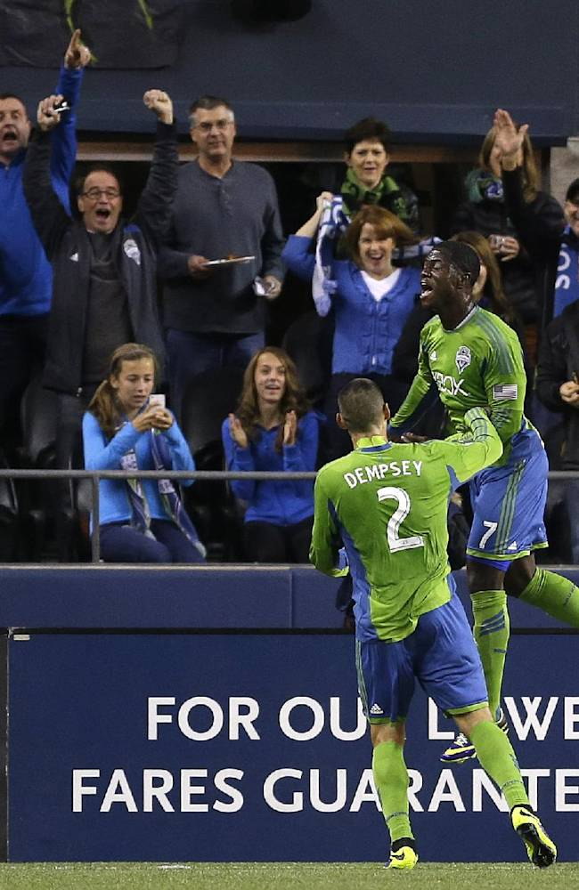 Seattle and Los Angeles play to 1-1 draw