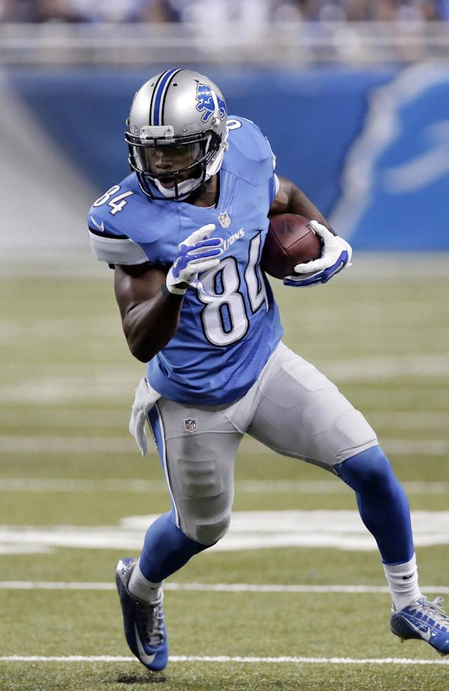 Lions have depth at WR for a change