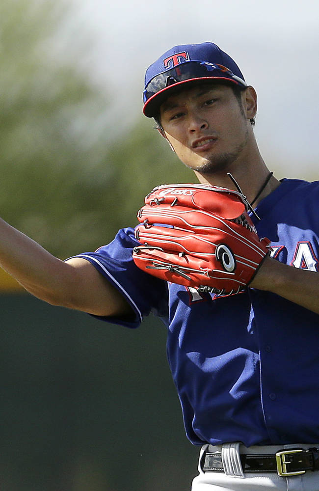 Rangers to send ace Darvish for MRI exam on sore triceps