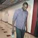 CHICAGO, IL - MAY 02: Luol Deng #9 of the Chicago Bulls arrives for Game Six of the Eastern Conference Quarterfinals against the Brooklyn Nets during the 2013 NBA Playoffs on May 2, 2013 at the United Center in Chicago, Illinois. (Photo by Randy Belice/NBAE via Getty Images)